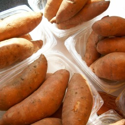 Recipe:  Spiced Sweet Potato Patties